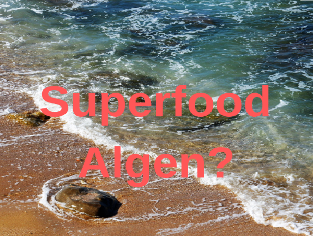 Superfood Algen